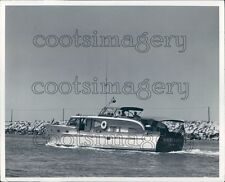 White Cloud Cabin Cruiser Boat Ewing Galloway Press Photo