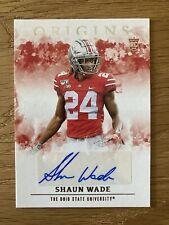 Shaun Wade Auto Rookie 2021 Panini Chronicles Origins #OA-SWD RAVENS NFL