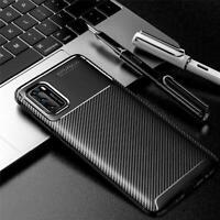 Huawei P40 Pro Fibra di Carbonio Custodia, Armatura Anti-urto Cover Cellulare+