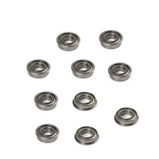 New 10pcs Flange Ball Bearing F682ZZ 2x5x2.3mm Metric flanged Bearings