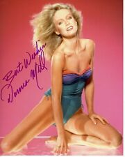 DONNA MILLS signed autographed photo