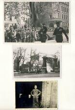 orig Foto AK,2.WK, WW2, - Aufmarsch eventuell in Wien, Autokennzeichen A.28.295