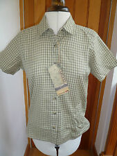 Viscose Short Sleeve Classic Collar Tops & Shirts for Women