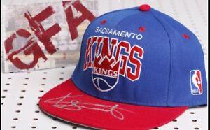 Keith Smart SACRAMENTO KINGS Signed Snap-Back Hat K2 COA GFA