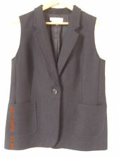 Button Cotton Regular Size Waistcoats for Women