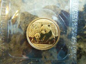 1/10 oz. 2012 Chinese Panda Gold Coin