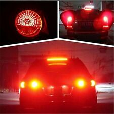 2pcs Red 9W Cree 5630 12 LED S25 1157 BAY15D Brake Tail Car Rear Stop Light Lamp