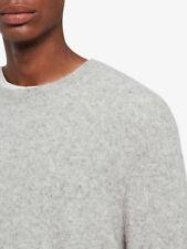 AllSaints Kez Crew Neck Jumper, Tin Grey MarlMens Size M - £108 RRP