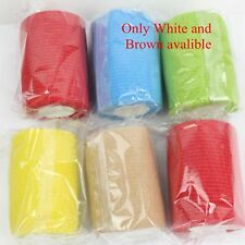 6 x High Quality 75mm x 4.5m Professional Cohesive Bandage