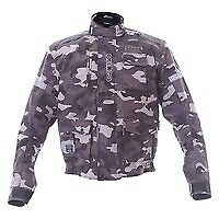 Motorcycle Jacket Waterproof Spada Camo Large CE Approved