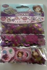 Sofia the First Confetti Children's Girls Birthday Favours Party