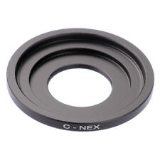 C-NEX Adapter For C Mount Movie Lens to Sony NEX Camera A7III A7RIII A9 NEX7/6/5