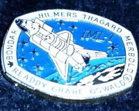STS 42 Space Shuttle Discovery IML1 Vintage NASA Collectible Space Lapel Hat Pin