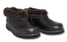 CHUNI Slip On Clogs Slippers 100 % Sheepskin Wool Valenki UGG Genuine Leather