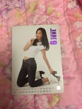 SNSD Yuri Rare Etched OFFICIAL Starcard  Card Kpop k-pop Girls Generation