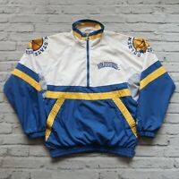 Vintage 90s Golden State Warriors Pullover Jacket by Starter Size L