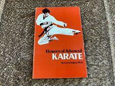 New listing Elements of Advanced Karate - Lester Ingber