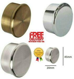 35 mm Speedy Poles Apart End Caps Curtain Pole Finials, 2 Pack (1 Pair)