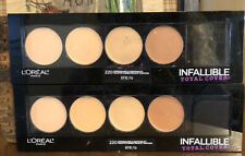 Lot Of 2 L'Oreal Infallible Total Cover Concealing & Contour Kit #220