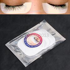 50 Premium Pair Silk Under Eye Pads Patches Sticker Eyelash Extension Tool