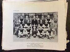 a2q ephemera reprint picture football f a cup aston villa 1920 hardy moss smart