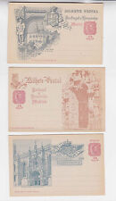 madeira 1898 10r,eight commemorative stationery cards      b2005