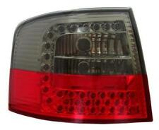Back Rear Tail Lights In Red-Black LED Pair For Audi A6 Avant C5 4B 3/98-2/04