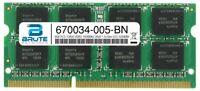 670034-005 - HP Compatible 8GB PC3-12800 DDR3-1600MHz 2Rx8 1.5v Non-ECC SODIMM