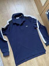 Lacoste Polo Shirt Size Medium Mens Long Sleeve