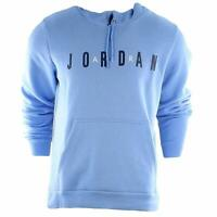 Jordan Mens Flight Fleece Logo Pullover Hoodie AH4509-412