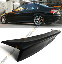CSL STYLE REAR DUCKBILL HIGHKICK TRUNK SPOILER WING FOR 99-05 BMW E46 4DR SEDAN