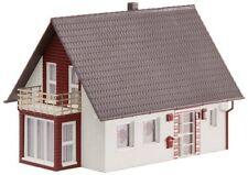 Casa de escala N rojos para modelismo ferroviario