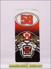 1:12 Pit board - pitboards Marco Simoncelli Leon - Lion 58 to minichamps RARE