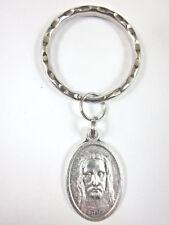 Holy Face of Jesus  / Cross Medal Italy Key Ring Gift Box & Prayer Card