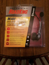 """BRAND NEW""Roadking RK400 Noise Cancelling Bluetooth Headset w/ Dual Mic"