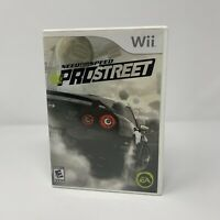 Need for Speed: ProStreet Nintendo Wii Game Complete With Manual Tested