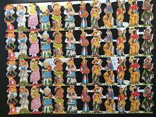 # GLANZBILDER # Doppelbogen / Großbogen MLP 1541 / 1542 Kinder 70er Jahre Motiv