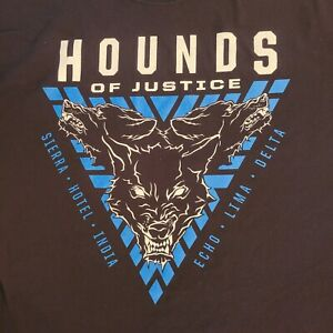 WWE The Shield Hounds Of Justice T Shirt Size XL Roman Reigns Moxley Rollins