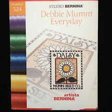 Bernina Embroidery Designs Card #524 Debbie Mumm for Artista 165 170 180 200