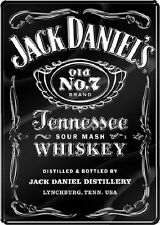 """Jack Daniels Label Whiskey Large 18.5"""" by 26"""" Bar Wall Decor Metal Tin Sign"""