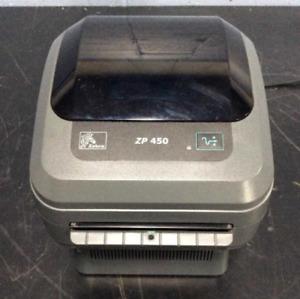 Zebra ZP450 Thermal Shipping Label Barcode USB Printer UPS USPS eBay