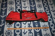 Easton Red Canvas Bat Bag Carrying Bag