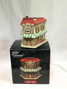 SPIRIT OF AMERICA FIRST EDITION REXALL 1930 DRUG STORE LIGHTED STORE WITH BOX
