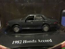 1:87 HO Scale 1982 Honda Accord GRAY Fresh Cherries 1:87 Motor Max RARE