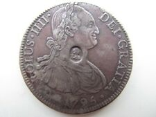 More details for  a high grade george iii emergency issue countermarked 8 reales dollar