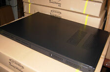 NEW BLACK 1U RACKMOUNT SERVER CASE FAST FREE SHIPPING WILL ACCEPT 1U PSU
