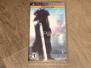 Final Fantasy VII Crisis Core Playstation PSP Complete CIB Authentic