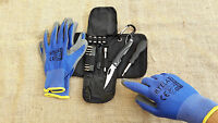 BMW S 1000 R RR XR  Tool Bag Case Tasche+Bordmesser+Mechaniker Handschuhe XL