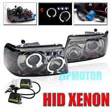 01-11 FORD RANGER HALO LED PROJECTOR HEADLIGHT+HID KIT SMOKE 06 07 08 09 10 2IN1