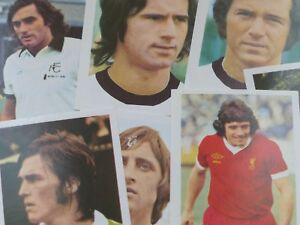 FKS Euro Soccer Stars '77 Picture Stamps - Complete Your Collection